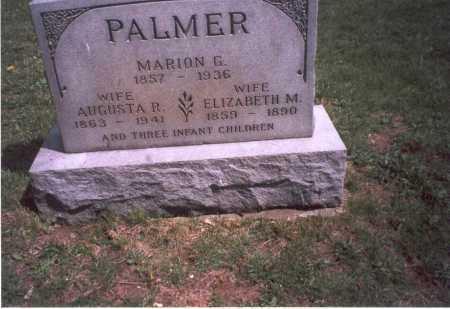 PALMER, AUGUSTA R. - Franklin County, Ohio | AUGUSTA R. PALMER - Ohio Gravestone Photos