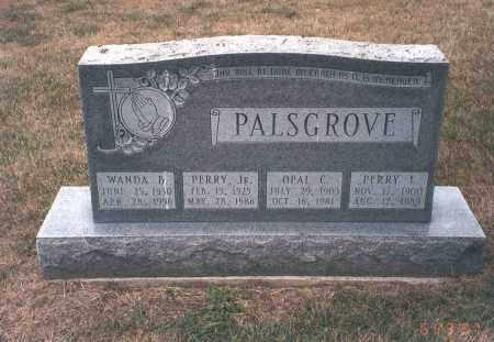 PALSGROVE, WANDA B. - Franklin County, Ohio | WANDA B. PALSGROVE - Ohio Gravestone Photos
