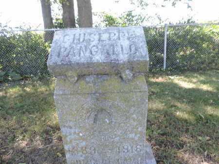 PANGALLO, GIUSEPPE - Franklin County, Ohio | GIUSEPPE PANGALLO - Ohio Gravestone Photos