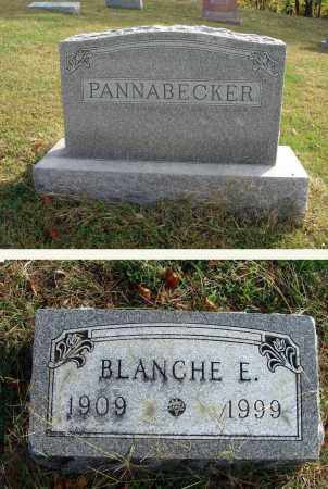 PANNABECKER, BLANCHE E. - Franklin County, Ohio | BLANCHE E. PANNABECKER - Ohio Gravestone Photos