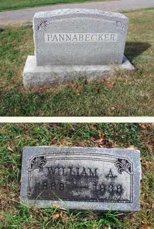 PANNABECKER, WILLIAM A. - Franklin County, Ohio | WILLIAM A. PANNABECKER - Ohio Gravestone Photos