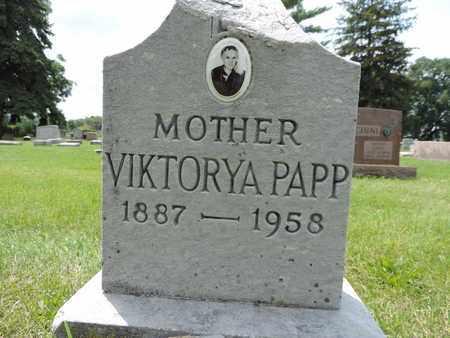 PAPP, VIKTORYA - Franklin County, Ohio | VIKTORYA PAPP - Ohio Gravestone Photos
