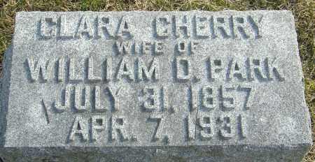 PARK, CLARA - Franklin County, Ohio | CLARA PARK - Ohio Gravestone Photos