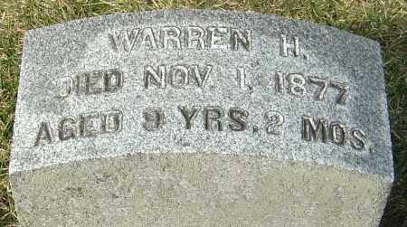 PARK, WARREN H - Franklin County, Ohio | WARREN H PARK - Ohio Gravestone Photos