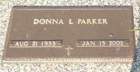 PARKER, DONNA L - Franklin County, Ohio | DONNA L PARKER - Ohio Gravestone Photos