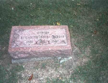 DOLBY PARKER, ELIZABETH - Franklin County, Ohio | ELIZABETH DOLBY PARKER - Ohio Gravestone Photos