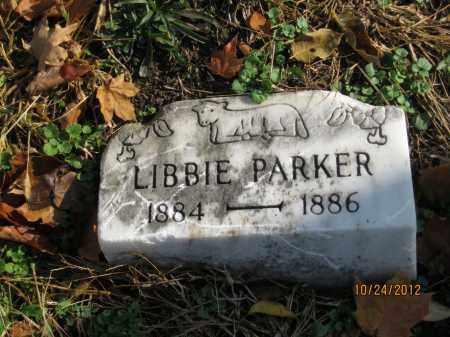 PARKER, LIBBIE - Franklin County, Ohio   LIBBIE PARKER - Ohio Gravestone Photos