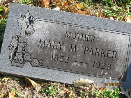 WORLINE PARKER, MARY MATILDA - Franklin County, Ohio | MARY MATILDA WORLINE PARKER - Ohio Gravestone Photos