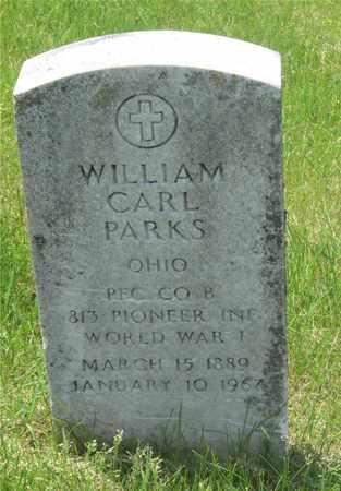 PARKS, WILLIAM CARL - Franklin County, Ohio | WILLIAM CARL PARKS - Ohio Gravestone Photos