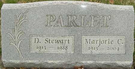 PARLET, MARJORIE C - Franklin County, Ohio | MARJORIE C PARLET - Ohio Gravestone Photos