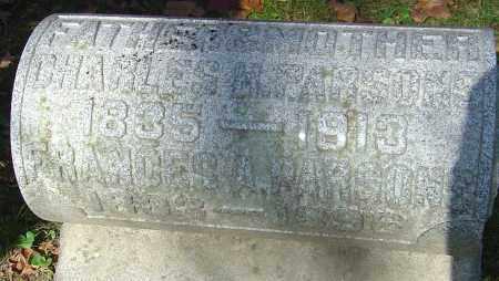 BURR PARSONS, FRANCES - Franklin County, Ohio | FRANCES BURR PARSONS - Ohio Gravestone Photos