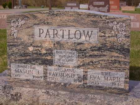 PARTLOW, EVA MARIE - Franklin County, Ohio | EVA MARIE PARTLOW - Ohio Gravestone Photos