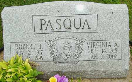 PASQUA, ROBERT J - Franklin County, Ohio | ROBERT J PASQUA - Ohio Gravestone Photos