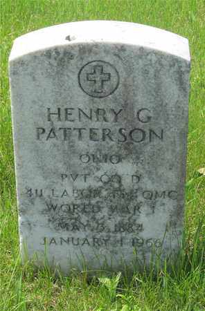 PATTERSON, HENRY G. - Franklin County, Ohio | HENRY G. PATTERSON - Ohio Gravestone Photos
