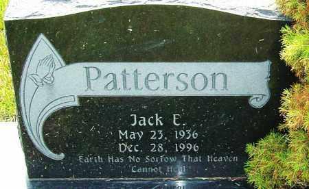 PATTERSON, JACK E - Franklin County, Ohio | JACK E PATTERSON - Ohio Gravestone Photos