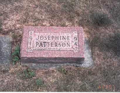 PATTERSON, JOSEPHINE - Franklin County, Ohio | JOSEPHINE PATTERSON - Ohio Gravestone Photos