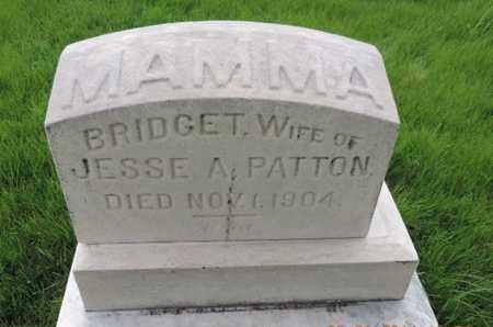 PATTON, BRIDGET - Franklin County, Ohio | BRIDGET PATTON - Ohio Gravestone Photos