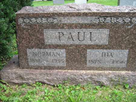 PAUL, IDA - Franklin County, Ohio   IDA PAUL - Ohio Gravestone Photos