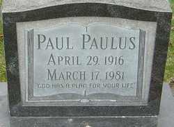 PAULUS, PAUL - Franklin County, Ohio | PAUL PAULUS - Ohio Gravestone Photos