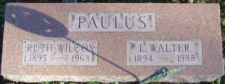 PAULUS, LAWRENCE WALTER - Franklin County, Ohio | LAWRENCE WALTER PAULUS - Ohio Gravestone Photos