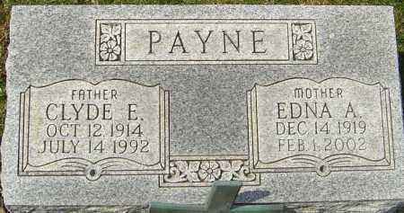 PAYNE, CLYDE E - Franklin County, Ohio   CLYDE E PAYNE - Ohio Gravestone Photos