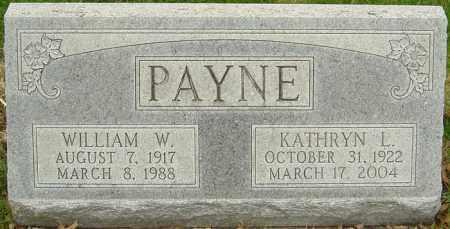 PAYNE, WILLIAM W - Franklin County, Ohio | WILLIAM W PAYNE - Ohio Gravestone Photos