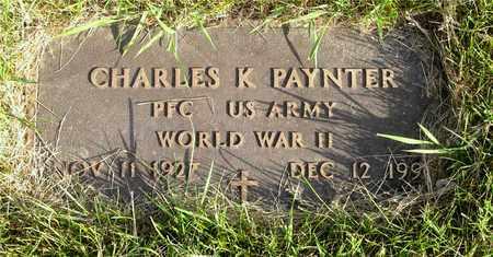 PAYNTER, CHARLES K. - Franklin County, Ohio   CHARLES K. PAYNTER - Ohio Gravestone Photos