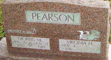 PEARSON, MORRIS - Franklin County, Ohio | MORRIS PEARSON - Ohio Gravestone Photos