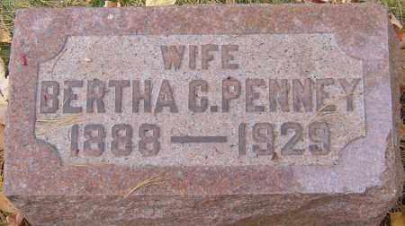 PENNEY, BERTHA - Franklin County, Ohio   BERTHA PENNEY - Ohio Gravestone Photos