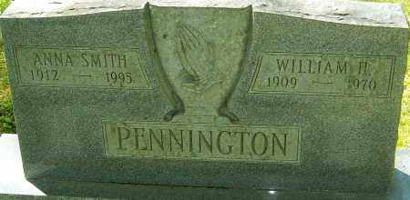 PENNINGTON, WILLIAM H - Franklin County, Ohio | WILLIAM H PENNINGTON - Ohio Gravestone Photos