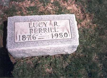 PERRILL, LUCY R. - Franklin County, Ohio | LUCY R. PERRILL - Ohio Gravestone Photos
