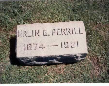PERRILL, URLIN G. - Franklin County, Ohio | URLIN G. PERRILL - Ohio Gravestone Photos