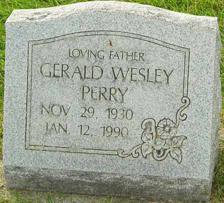 PERRY, GERALD WESLEY - Franklin County, Ohio | GERALD WESLEY PERRY - Ohio Gravestone Photos