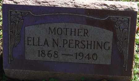 MCPEEK PERSHING, ELLA N - Franklin County, Ohio   ELLA N MCPEEK PERSHING - Ohio Gravestone Photos