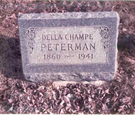 CHAMPE PETERMAN, DELLA - Franklin County, Ohio | DELLA CHAMPE PETERMAN - Ohio Gravestone Photos