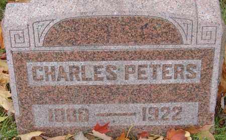 PETERS, CHARLES - Franklin County, Ohio | CHARLES PETERS - Ohio Gravestone Photos