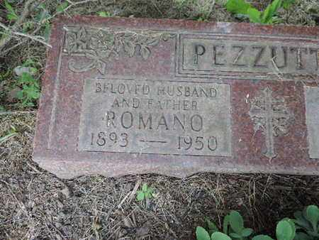PEZZUTTI, ROMANO - Franklin County, Ohio | ROMANO PEZZUTTI - Ohio Gravestone Photos