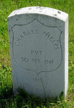 PHELPS, CHARLES - Franklin County, Ohio | CHARLES PHELPS - Ohio Gravestone Photos