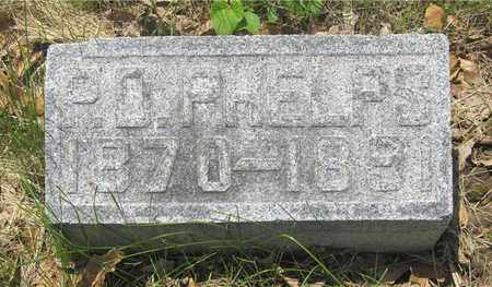 PHELPS, P.O. - Franklin County, Ohio | P.O. PHELPS - Ohio Gravestone Photos