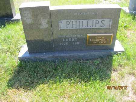 "PHILLIPS, LAWRENCE ""LARRY"" R - Franklin County, Ohio 