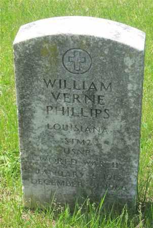 PHILLIPS, WILLIAM VERNE - Franklin County, Ohio | WILLIAM VERNE PHILLIPS - Ohio Gravestone Photos