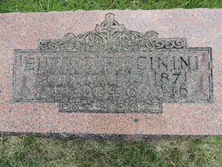 PICCININI, ENRICO - Franklin County, Ohio   ENRICO PICCININI - Ohio Gravestone Photos