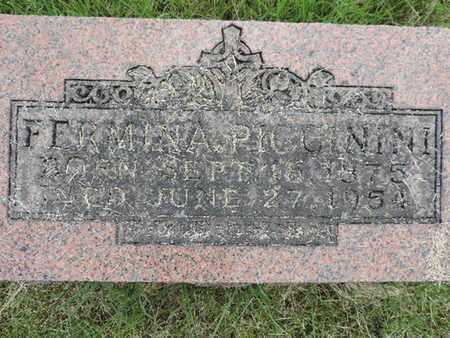 PICCININI, FERMINA - Franklin County, Ohio   FERMINA PICCININI - Ohio Gravestone Photos