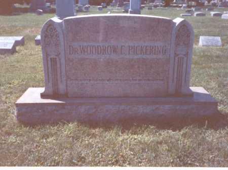 PICKERING, M.D., WOODROW - Franklin County, Ohio   WOODROW PICKERING, M.D. - Ohio Gravestone Photos