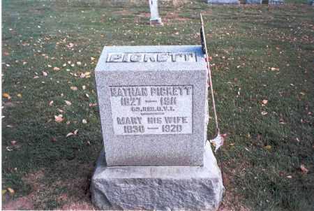 FREEMAN PICKETT, MARY - Franklin County, Ohio | MARY FREEMAN PICKETT - Ohio Gravestone Photos