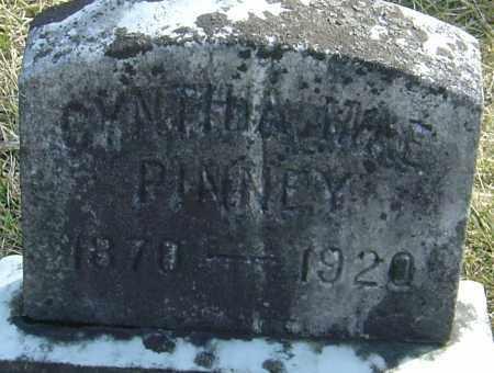 PINNEY, CYNTHIA MAE - Franklin County, Ohio   CYNTHIA MAE PINNEY - Ohio Gravestone Photos