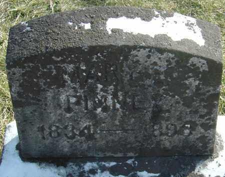 PINNEY, MARY E - Franklin County, Ohio | MARY E PINNEY - Ohio Gravestone Photos