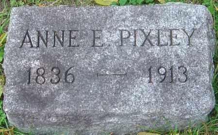 PIXLEY, ANNE E - Franklin County, Ohio   ANNE E PIXLEY - Ohio Gravestone Photos
