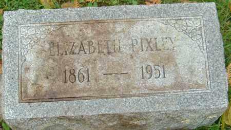 PIXLEY, ELIZABETH - Franklin County, Ohio | ELIZABETH PIXLEY - Ohio Gravestone Photos
