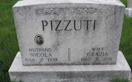PIZZUTI, NICOLA - Franklin County, Ohio | NICOLA PIZZUTI - Ohio Gravestone Photos